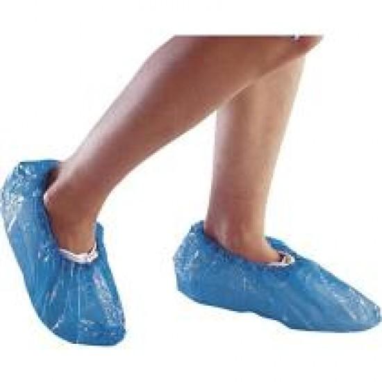 Cipővédő fólia, egyszerhasználatos KÉK 100DB